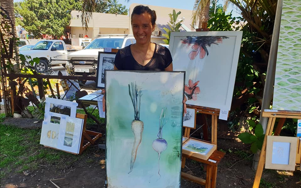 Conversations with eco warrior and artist Janet Botes